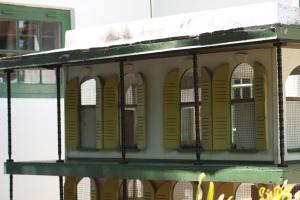 Cat house at Hemmingway's house
