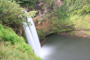 Wailua Falls from the ground
