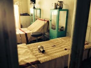 Alcatraz hospital ward