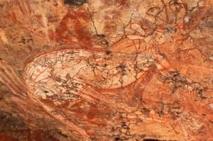 Kangaroo, Nourlangie Rock