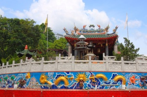 Chinese temple, Kuching