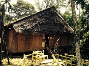 Model longhouse, Heritage Village