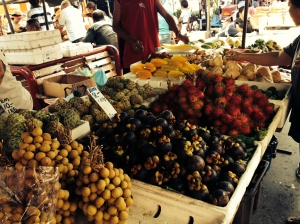 Fruit at KK market