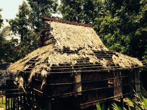Model longhouse