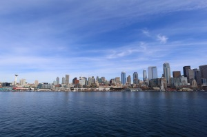 Seattle from the Sound